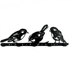 Интерьерная вешалка настенная Birds, фото 3
