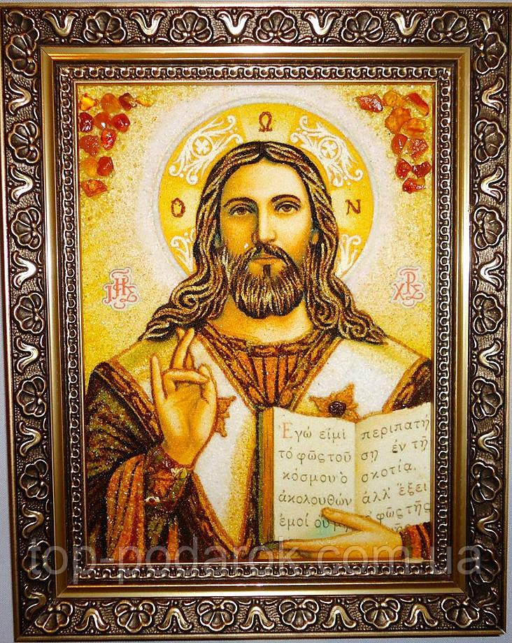 Ісус Христос і-02 Господь Вседержитель (пара з Іверська і-01)