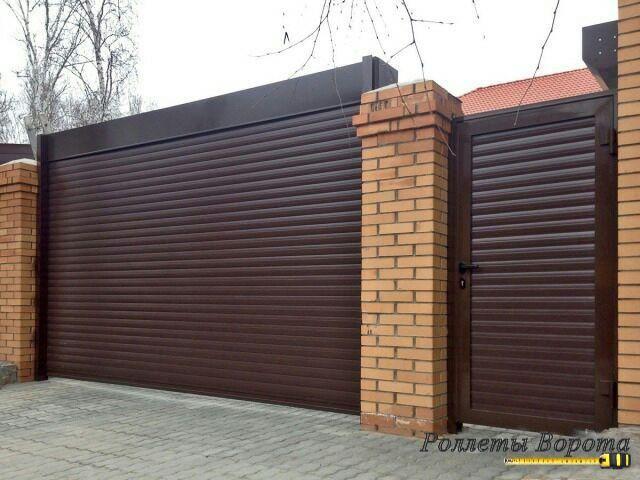 Роллетные ворота с автоматикой
