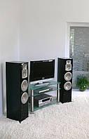 """Тумба ТВ Maxi DXS 1070  """"прозрачный"""" стекло, хром, фото 1"""