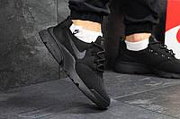 Кросівки чоловічі Nike Air Presto Fly Uncaged (чорні), ТОП-репліка, фото 1