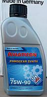Синтетическое универсальное трансмиссионное масло Aviaticon Finkogear Synth 75W90 (1л)