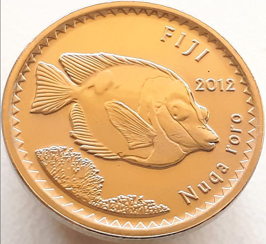 Фіджі 5 центів 2012