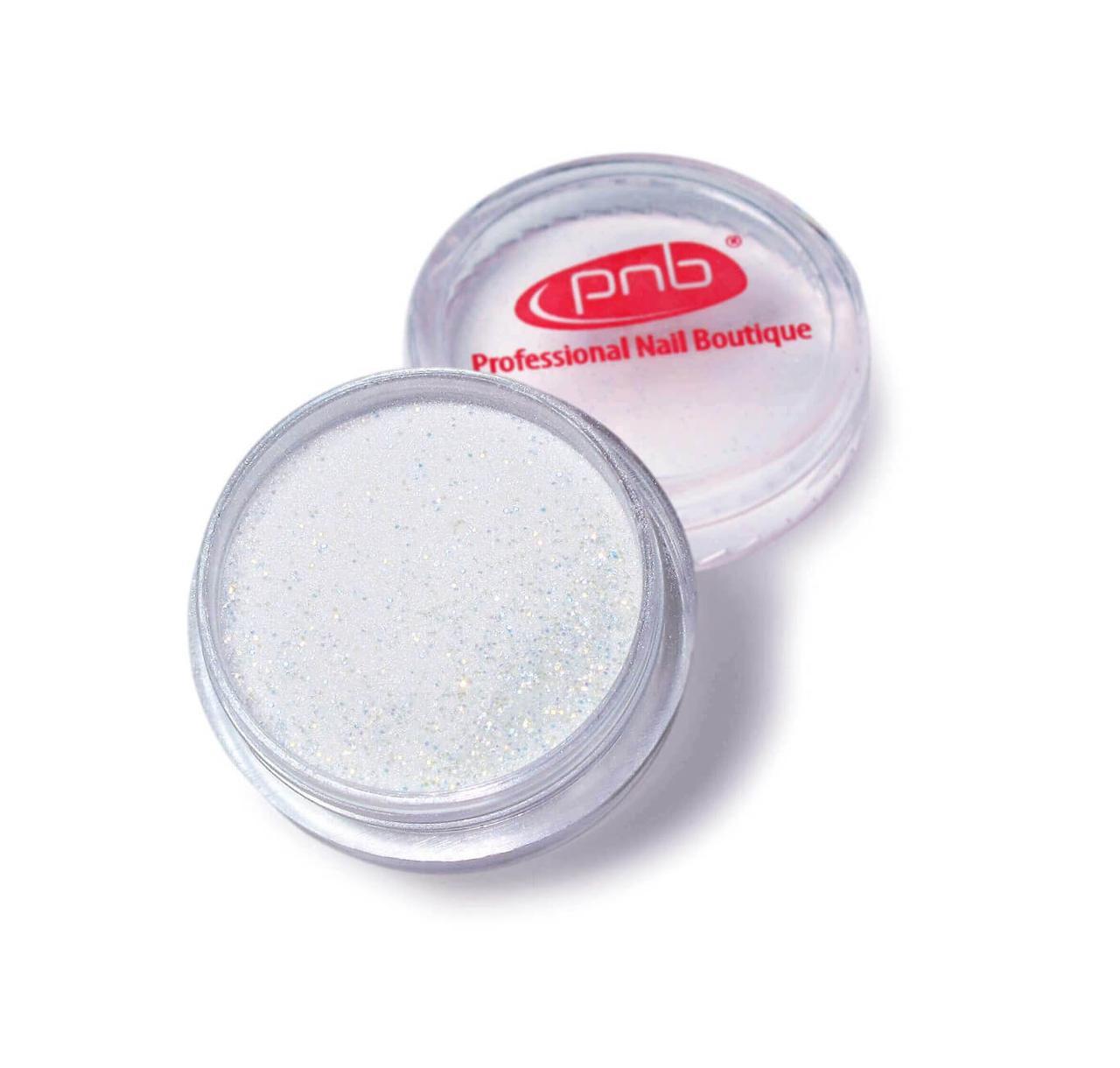 Color Acrylic Powder PNB 02 Silver Glitter, 2g