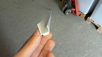 Профіль примикання торцювальний J-тип 12.5 мм на самоклеючій основі, фото 1