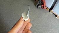 Профиль примыкания торцовочный J-тип 12.5 мм на самоклеющейся основе, фото 1