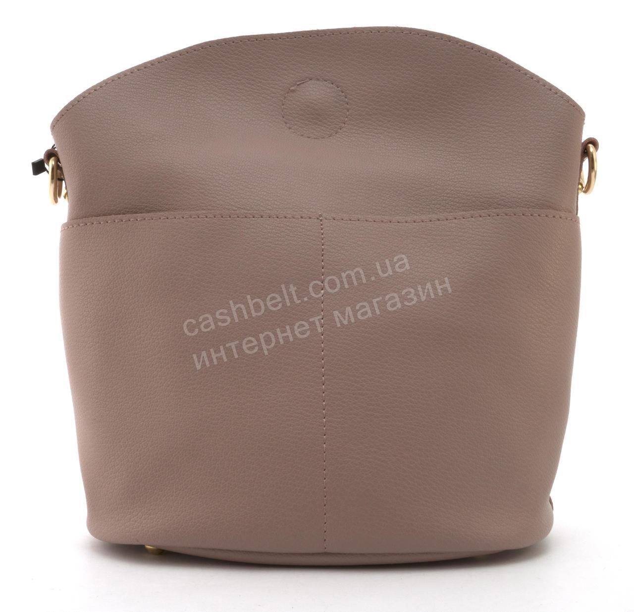 Качественная стильная сумка с эко кожи высокого качества Little Pigion art. F1009 сиреневая