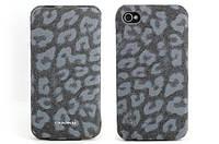 Чехол для iPhone 4/4S - Nuoku LEO stylish leather case