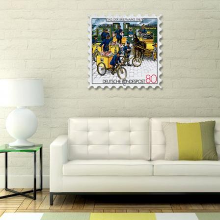 "Картина на стекле ""Марка Louis Armstrong"". Акция: Бесплатная доставка!, фото 2"