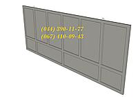 Забор бетоный секционный Плита ПЗ 60x10, большой выбор ЖБИ. Доставка в любую точку Украины.