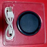 Бездротова зарядка Wireless Charger Q5 Power PAD (Round) Black 1500mAh