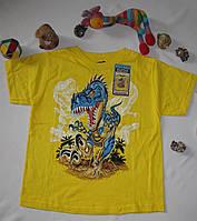 Футболка санлайтер Top Heavy Динозавр рост 122 см желтая 07073, фото 1