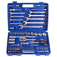 Универсальный набор инструментов Werker 82 предмета 1/2-1/4 дюйма UN-1082П (3)
