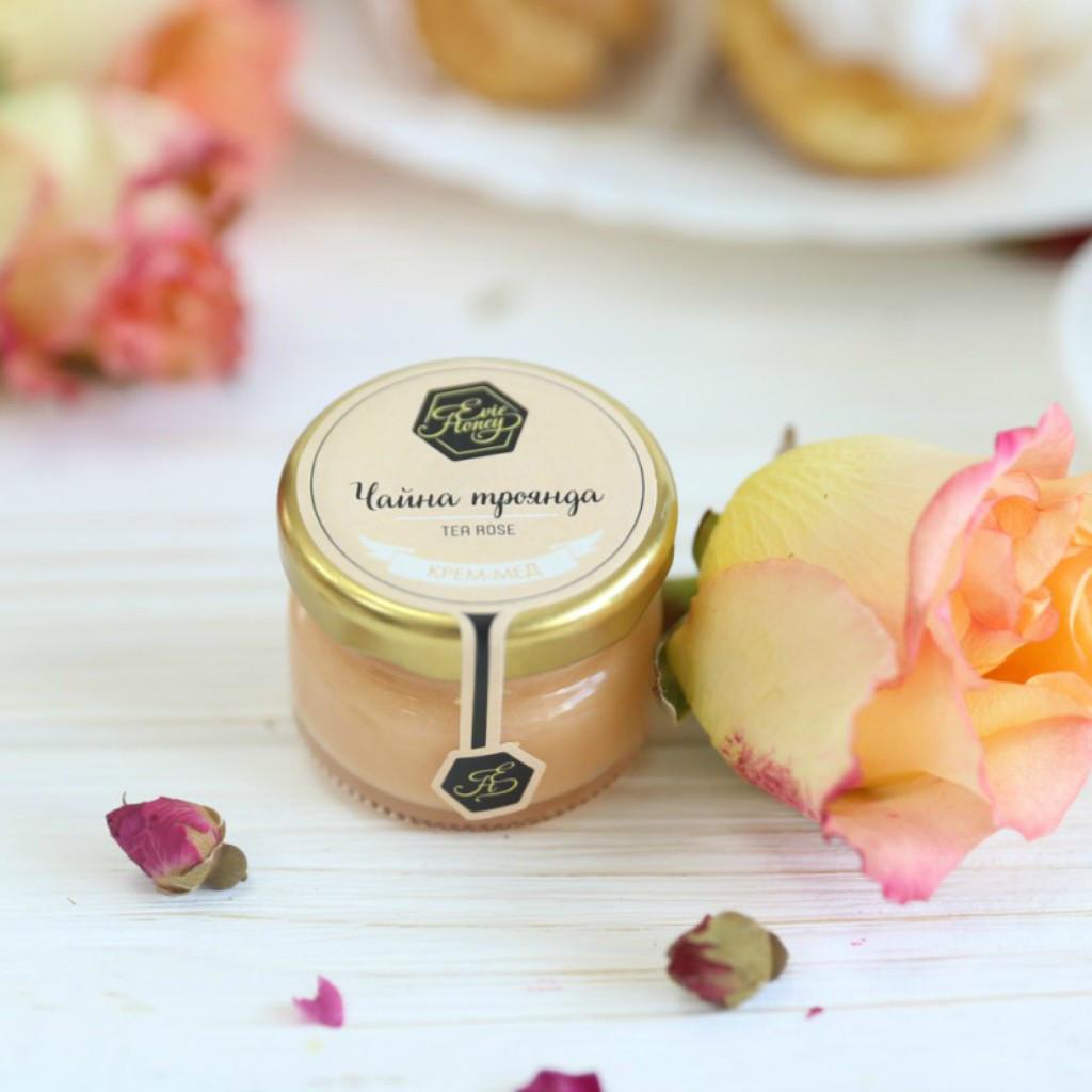 """Крем-мед с чайной розой """"Чайная роза"""" 30 г."""