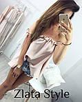 Блузка Супер Софт Рюши , фото 3