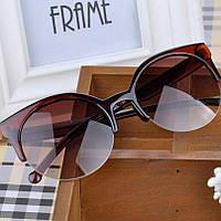 Солнцезащитные очки Cat Eye Brown