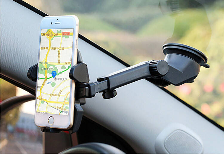 Держатель для телефона, планшета в автомобиль Clamp black