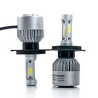 Светодмодная лампа H4 с охлаждением HighBe 9-32V 36W