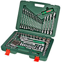 Набор инструментов HANS 1/4 дюйма и 1/2 дюйма 124 предмета ТК-124E (2)