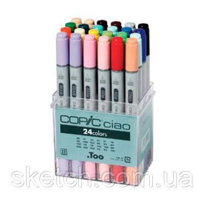 Набор маркеров Copic Ciao Set, 24шт/уп