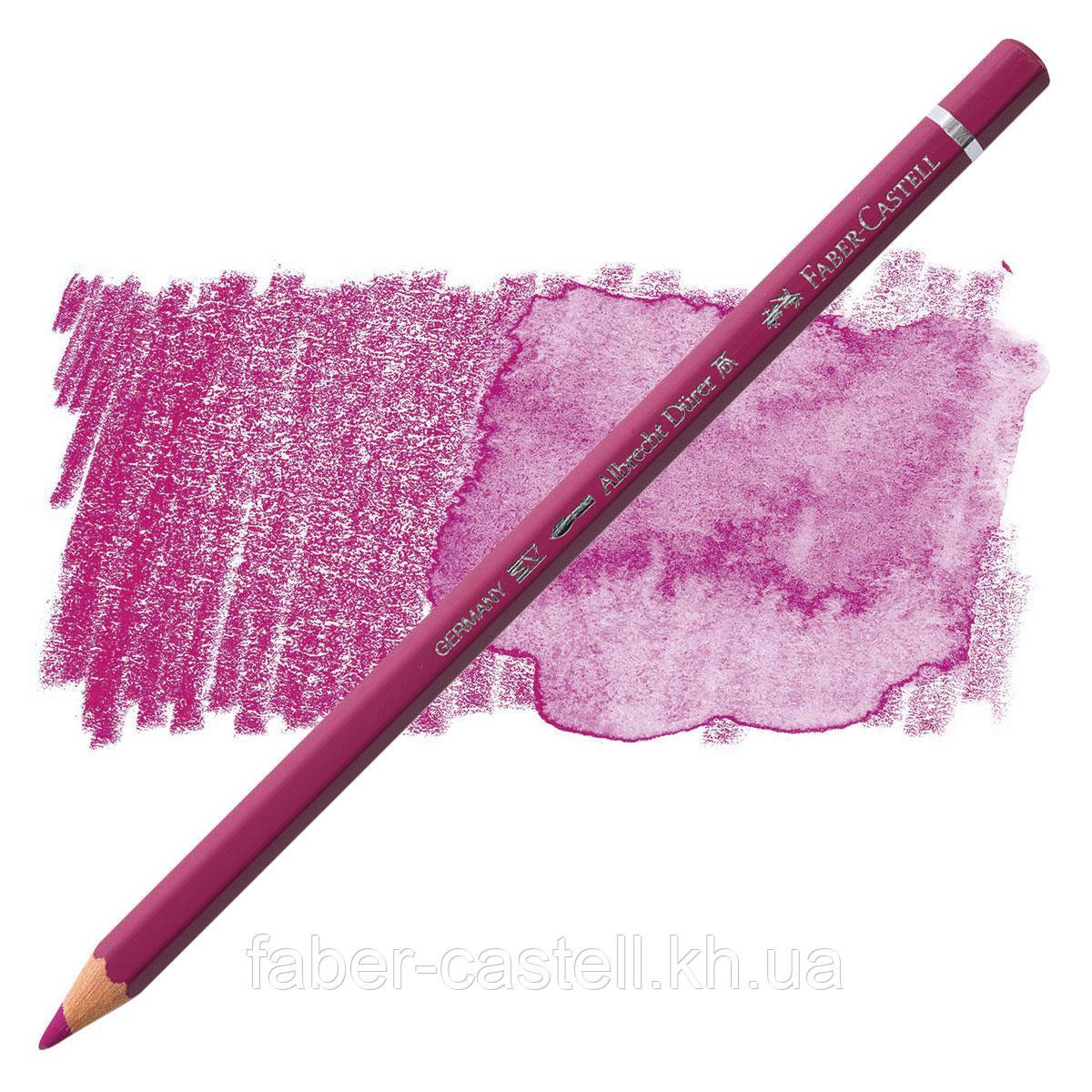 Карандаш акварельный цветной Faber-Castell Albrecht Dürer средне-пурпурный (Middle Purple Pink)  № 125, 117625