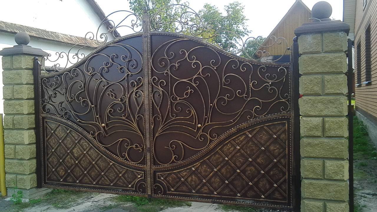 Ворота ковані  Володимирець