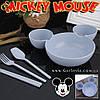 "Тарелка Микки Маус - ""Mickey Plate"" - полная комплектация!"