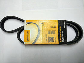 Ремінь генератора (без кондиц., 5 руч.) Renault Trafic, Opel Vivaro, 1.9, 2001-2006, Contitech 5PK1125