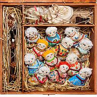Подарочный набор. 12 ангелов, мед, чай