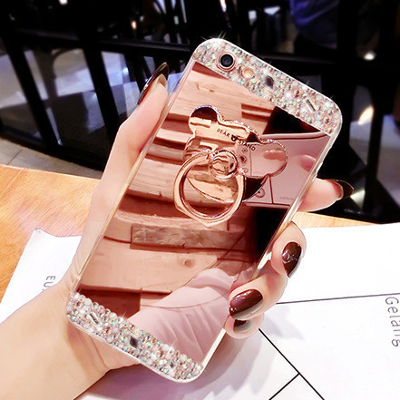 Чехол-накладка TPU Luxury Bear rose gold для Xiaomi Mi Note 2