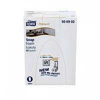 Жидкое мыло-пена картридж Tork Premium Luxury (500902)