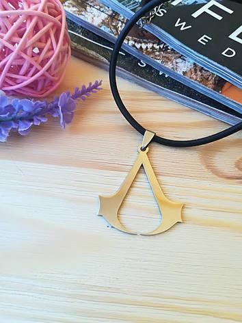 Кулон Ассасин крид Assassin's Creed из нержавеющей стали, фото 2