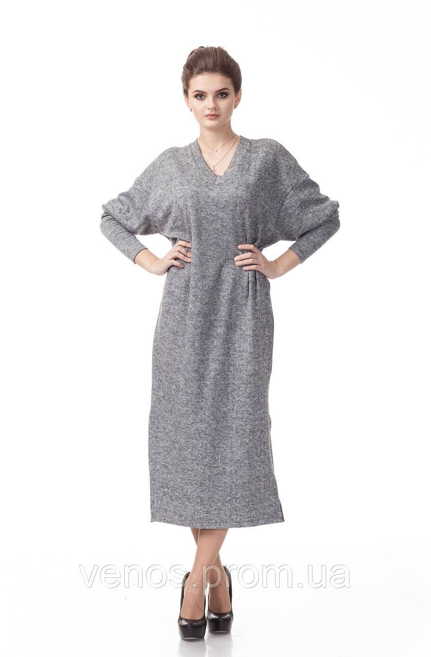 Длинное платье оверсайз .П_094