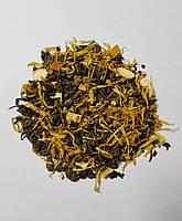 Зеленый чай с цедрой лимона весовой