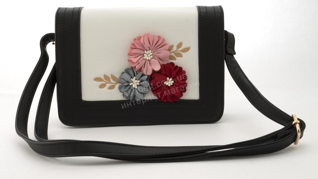 f3a1d75918a0 Небольшая вместительная женская стильная сумочка из эко кожи Love Dream  art. HB-1039 черная