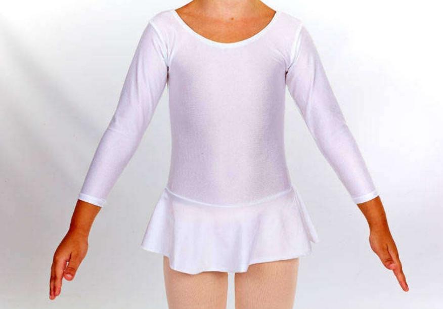 Купальники гимнастические с юбкой М (30-32)