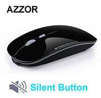 Azzor Бесшумная беспроводная компьютерная мышь на аккумуляторной батарее 2,4 059f3ffae13