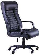 Кресло Атлетик PL кожзам Неаполь-20 (чёрный)