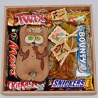 """Подарочный набор """"Кофейный кот"""" (набор сладостей) Оригинальный подарок для ребёнка, подруги, друзей"""