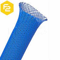 """13мм (1/2"""") кабельная оплетка TechFlex синяя, PTN0.50BL"""
