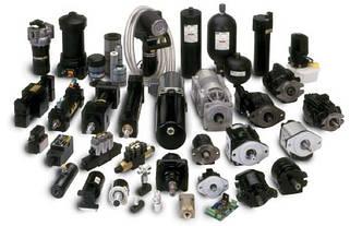 Гідравлічне, пневматичне, змащувальне обладнання та його комплектуючі.
