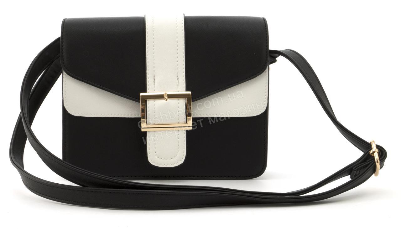 276f6b625b57 Небольшая вместительная женская стильная сумочка из эко кожи Love Dream  art. HB-1037 черная