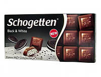 Шоколад молочний SCHOGETTEN BLACK & WHITE 100г (1/15)