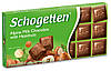 Шоколад молочний SCHOGETTEN HAZELNUT лісов.горіх 100г (1/15) 14821
