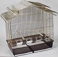 Клетка для птиц Victoria ™️ Золотая клетка 83*43*84