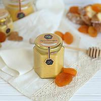 """Крем - мед с абрикосом """"Абрикосовий кураж"""" 200г, фото 1"""