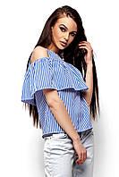 Блуза с воланом, фото 1