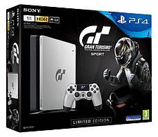 Консоль игровая SONY PS4, 1 TB, Black, Slim, +Gran Turismo
