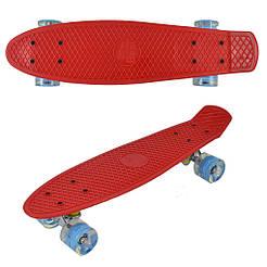 "Скейт Penny board 779 22"" Красный 65570"