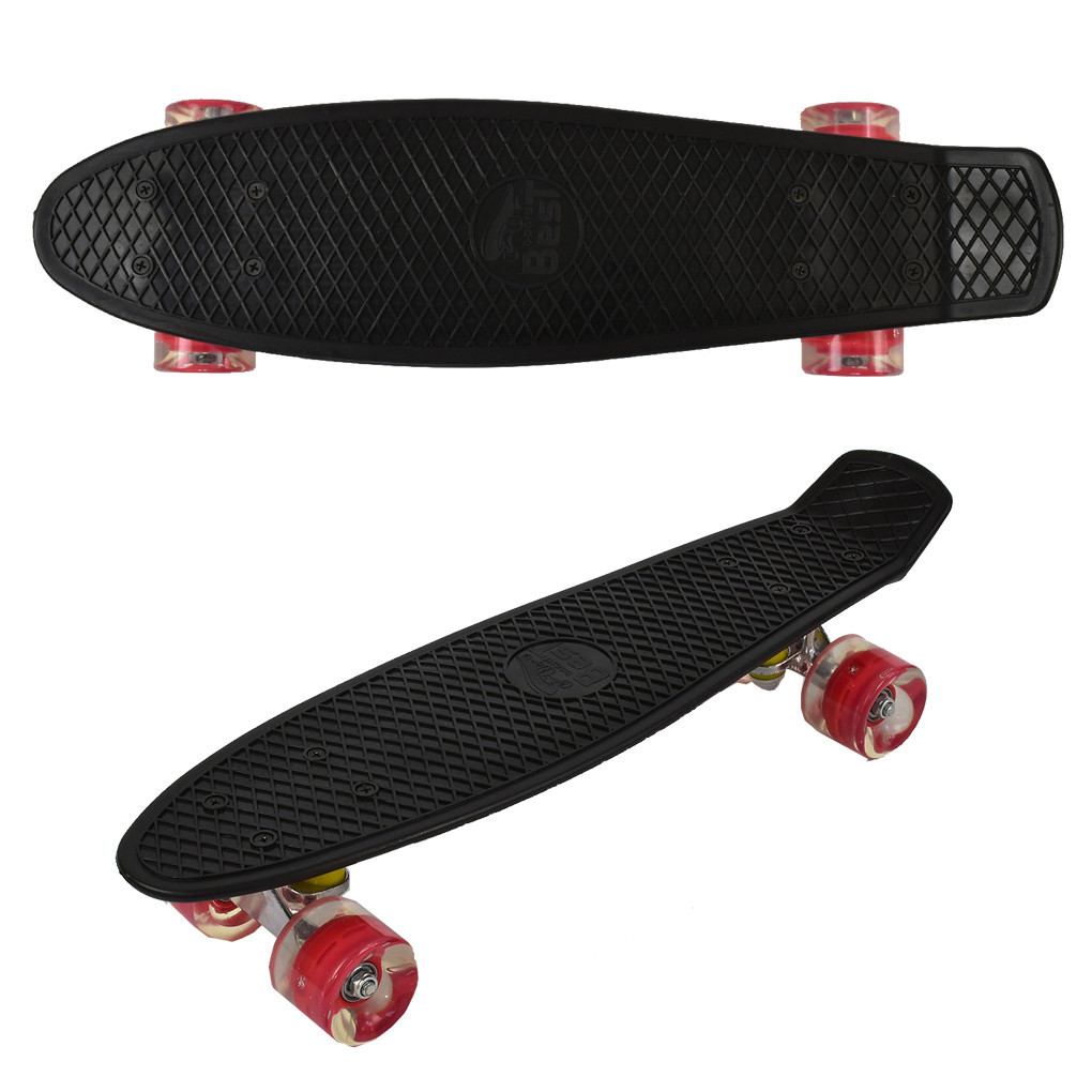 """Скейт Penny board 779 22"""" Черный 65569"""